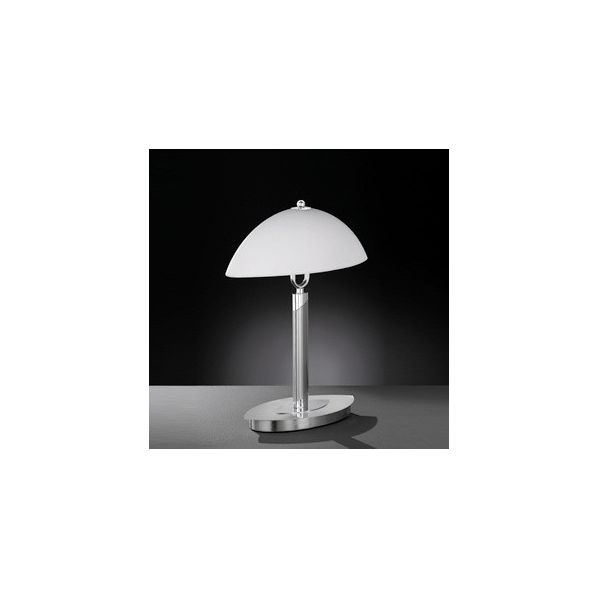 lampe de bureau tactile avec verre d poli roll. Black Bedroom Furniture Sets. Home Design Ideas