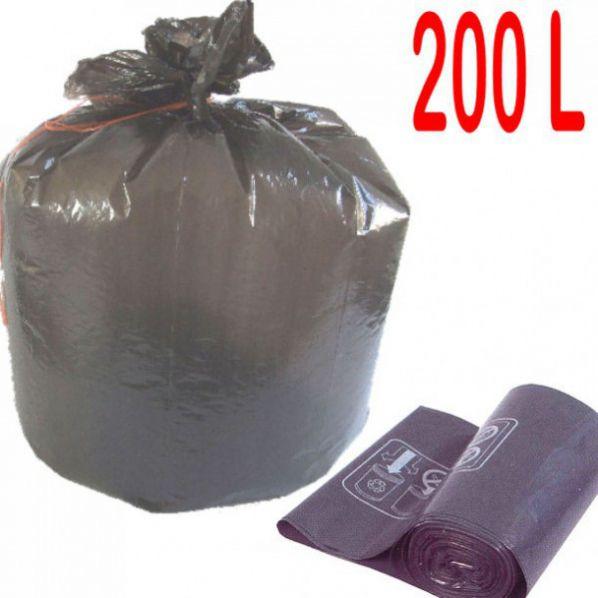 sac poubelle d chets lourds 200l roll. Black Bedroom Furniture Sets. Home Design Ideas