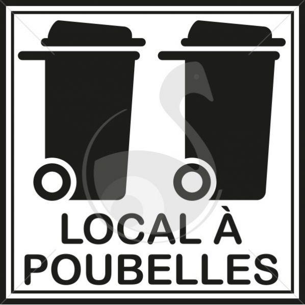 pictogramme local poubelles roll. Black Bedroom Furniture Sets. Home Design Ideas