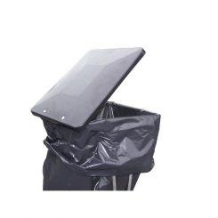 Support sac poubelle fixe 110 litres roll - Couvercle pour poubelle automatique ...