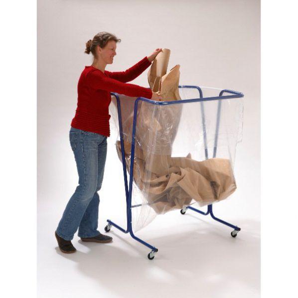support sac poubelle grand volume 600 litres roll. Black Bedroom Furniture Sets. Home Design Ideas