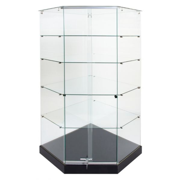 vitrine d 39 exposition d 39 angle roll. Black Bedroom Furniture Sets. Home Design Ideas