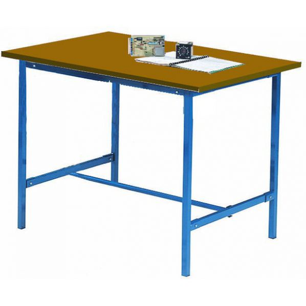 poste de travail table co contreplaqu roll. Black Bedroom Furniture Sets. Home Design Ideas