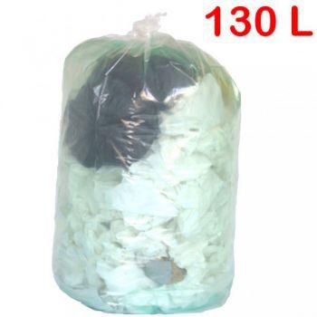 sac poubelle transparent 130l roll. Black Bedroom Furniture Sets. Home Design Ideas