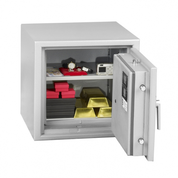 coffre fort anti feu et anti vol 40l combinaison roll. Black Bedroom Furniture Sets. Home Design Ideas