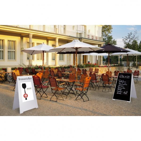 Panneau pour restaurant ardoise et affiche roll for Fourniture restaurant