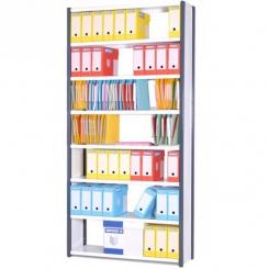 Rayonnage de bureau | hauteur 2000 mm | largeur 1200 mm | Métallique