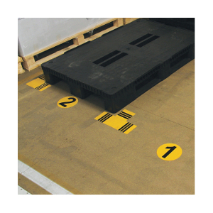 Marquage au sol pour entrepôt