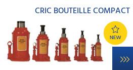 Nouveauté crics bouteilles compact