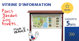 Vitrine d'information