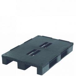 Palette standard plastique | charge lourde | 800 x 1200 mm
