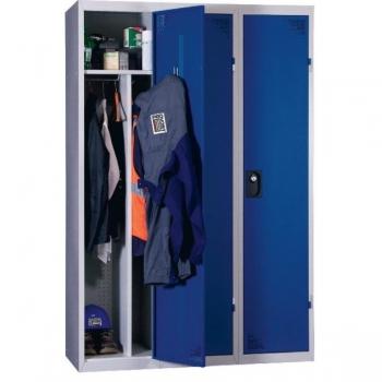 Vestiaire industrie salissante 3 cases monobloc roll for Vestiaires industriels