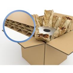 Caisse carton triple cannelure 670 x 540 x 540 mm