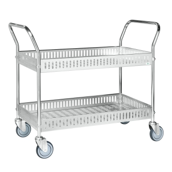 Chariot métal avec paniers