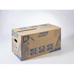 Carton déménagement 54 litres à fermeture automatique