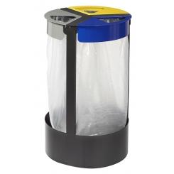 Support à sac poubelle 3 flux - Citwin