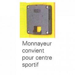 Monnayeur pour vestiaires monoblocs PE couleur