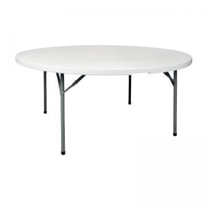 Table ronde pliante - hauteur 740 mm