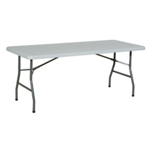 Table rectangle pliante - hauteur 740 mm