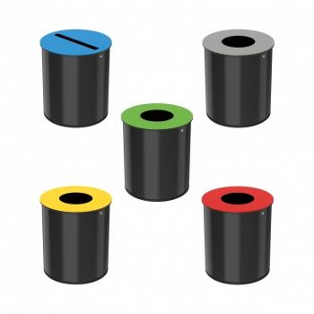 Corbeille de tri sélectif 15 litres - Neotri