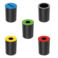 Corbeille de tri sélectif 30 litres - Neotri