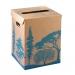 Corbeille à papier en carton - 36 litres - image 1