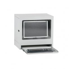 Armoire à ordinateur modèle compact