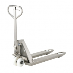 Transpalette inox charge 1600 kg - pompe inox
