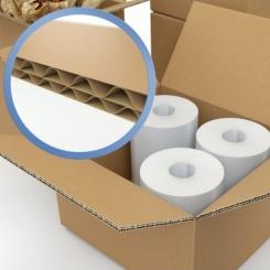 Caisse carton double cannelure longueur 800 mm