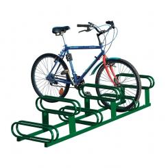 Support à vélos 6 places décalées - PROCITY®