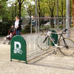 Support à vélos 16 places - PROCITY®