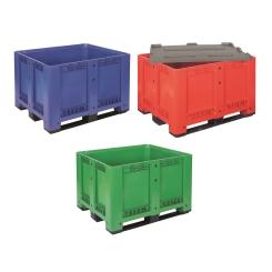 Caisse palette plastique 3 semelles tri sélectif