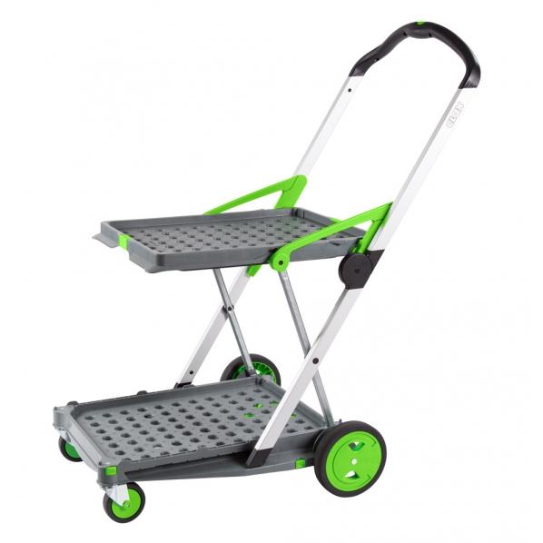 chariot de transport pliant 2 niveaux clax roll co. Black Bedroom Furniture Sets. Home Design Ideas