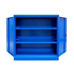 Armoire d'atelier à portes battantes - hauteur 1040 mm