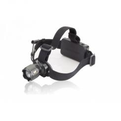 Lampe frontale rechargeable 3 faisceaux - 120-380 lumens