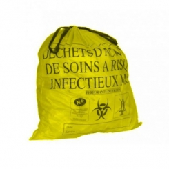 Sac poubelle à déchets infectieux