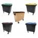 Conteneur poubelle bicolore - 770 litres - image 1