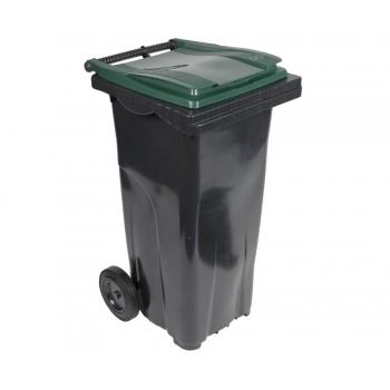 Conteneur poubelle 120L bicolore