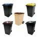 Conteneur poubelle bicolore - 360 litres - image 1
