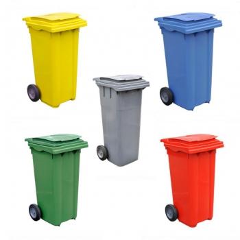 Conteneur poubelle - 80 litres
