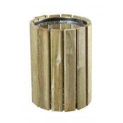 Corbeille en bois 20 litres