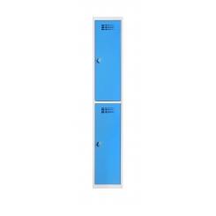 Vestiaire 2 cases superposées - 300 mm