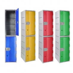 Vestiaire 2 cases - Plastique ultra solide
