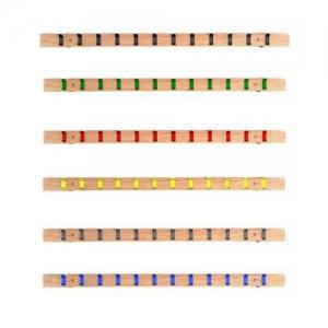 Lisse murale avec bipatères - 1000 mm