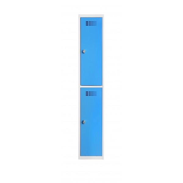 Vestiaire 2 cases superposées – 300 mm