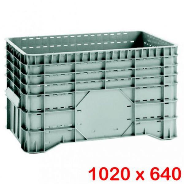 Caisse palette légère 300 litres ajourée