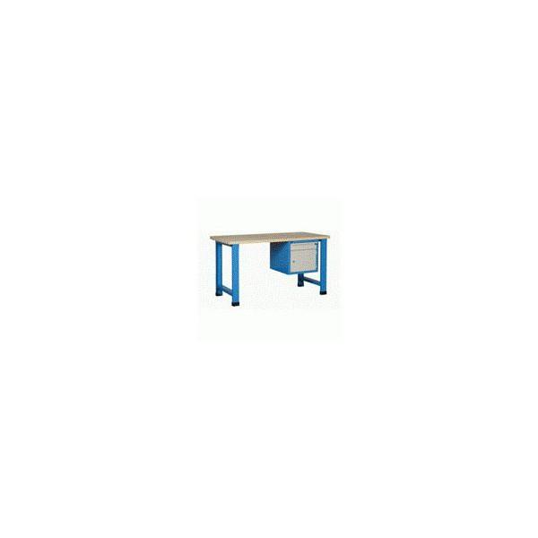 Établi d'atelier avec bloc porte