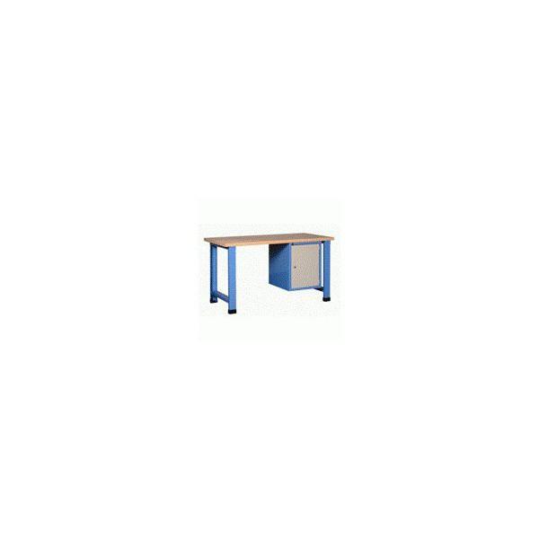 Établi d'atelier mécano avec bloc 1 porte 550 mm