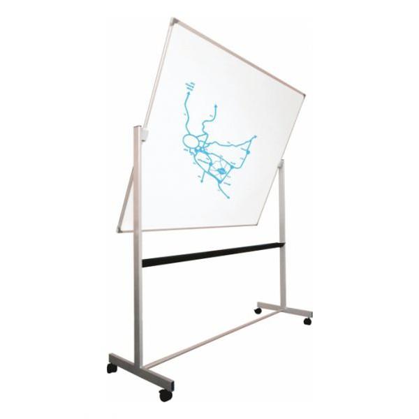 Tableau rotatif laqué blanc