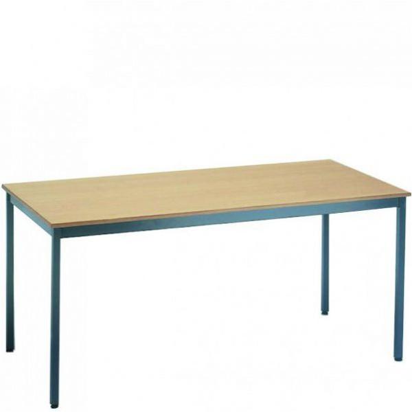 Table polyvalente - plateau mélaminé – hêtre